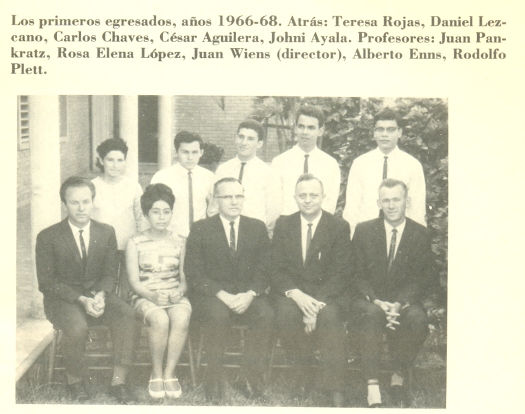 1968 IBA primeros egresados