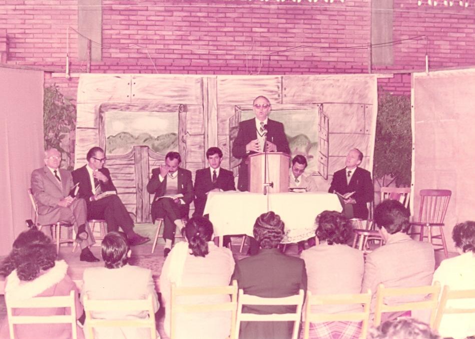 1987 Ordenación de 5 parejas pastorales